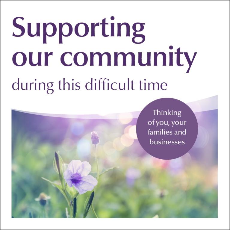Community Support Social Media Still